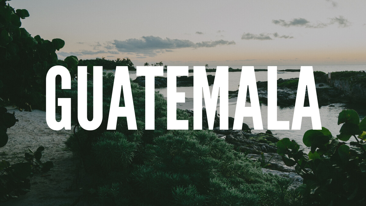 Pray for Youth in Guatemala