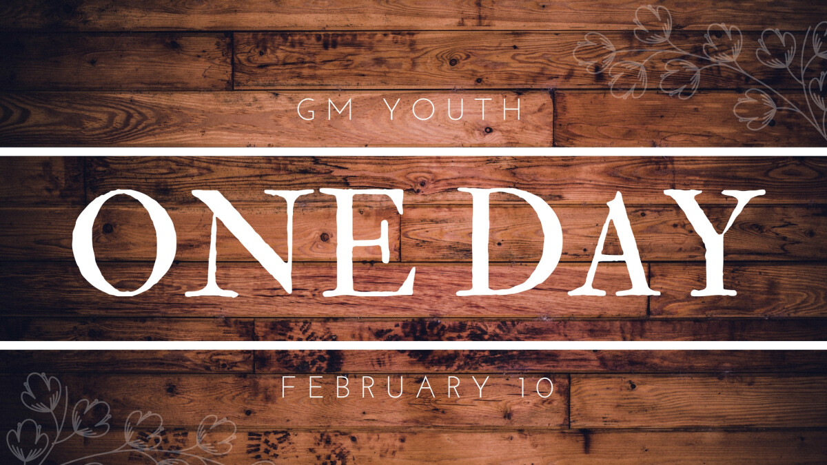 GM Youth: One Day Event & Lock In