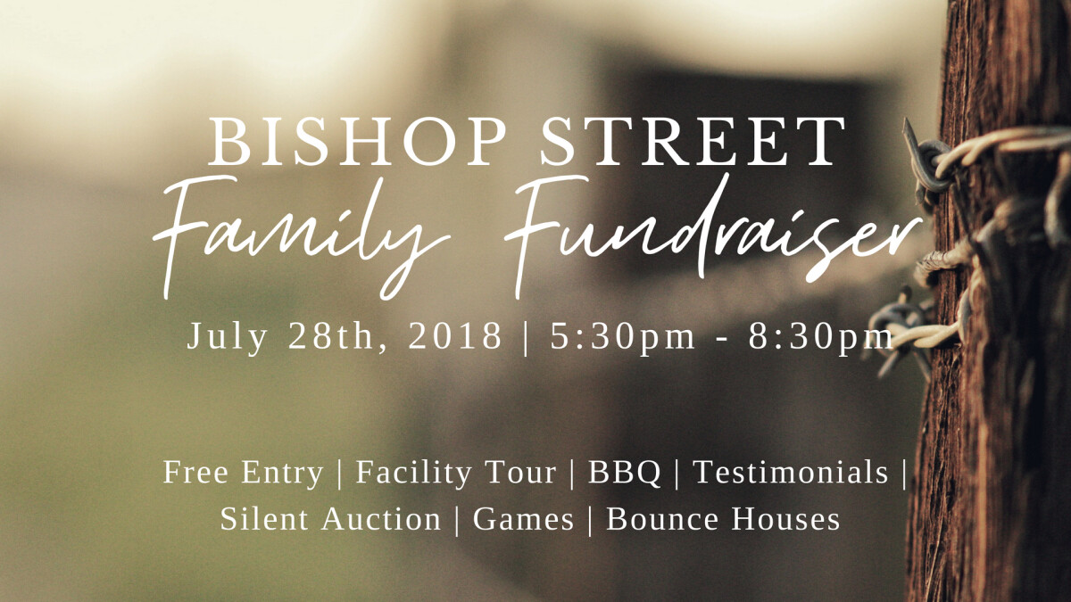 Bishop Street Family Fundraiser