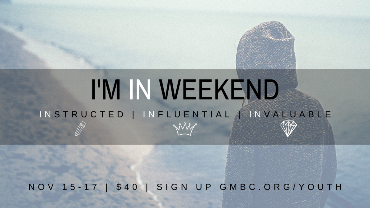 GM Youth - DNow: I'M IN Weekend