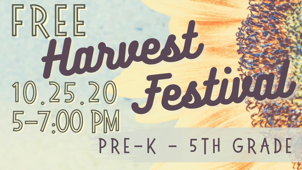 GM Kids - Harvest Festival 2020