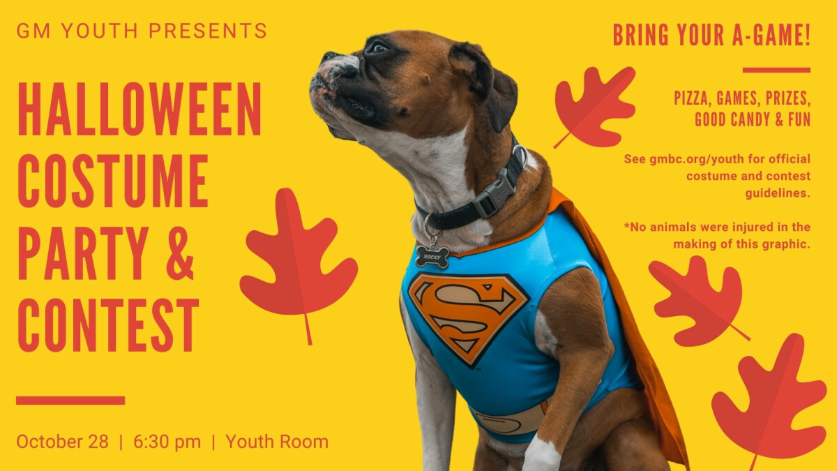 GM Youth - Halloween Party
