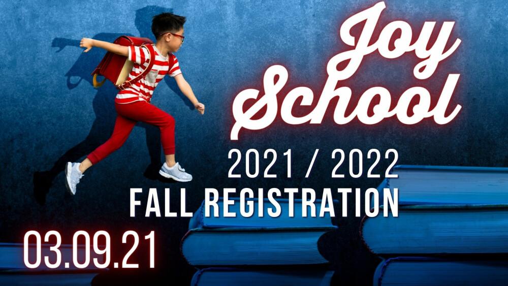 Joy School Reg
