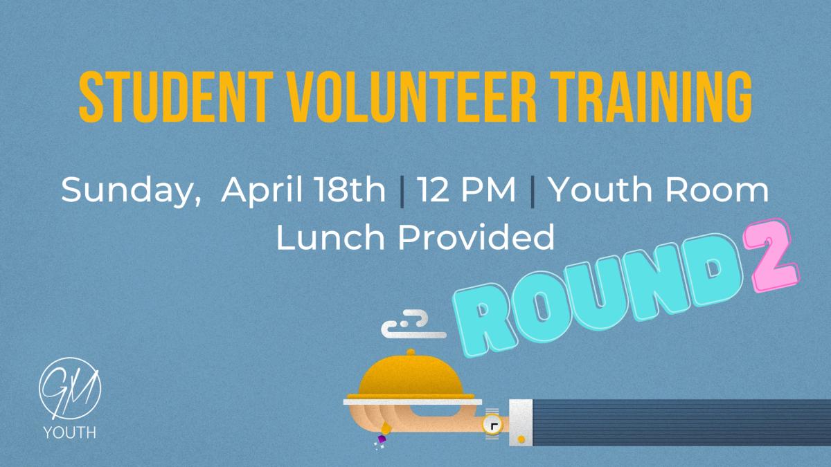 GM Youth - Student Volunteer Training
