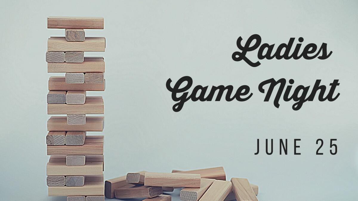 GM Women - Ladies Game Night