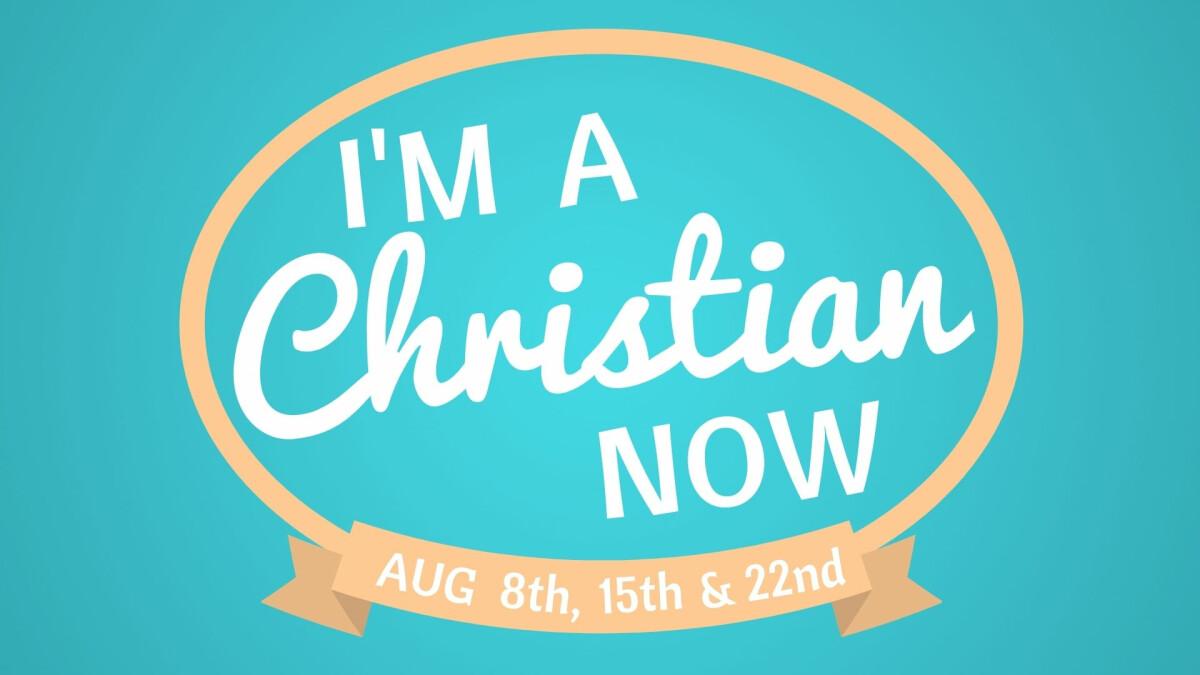 GM Kids - I'm a Christian Now Class