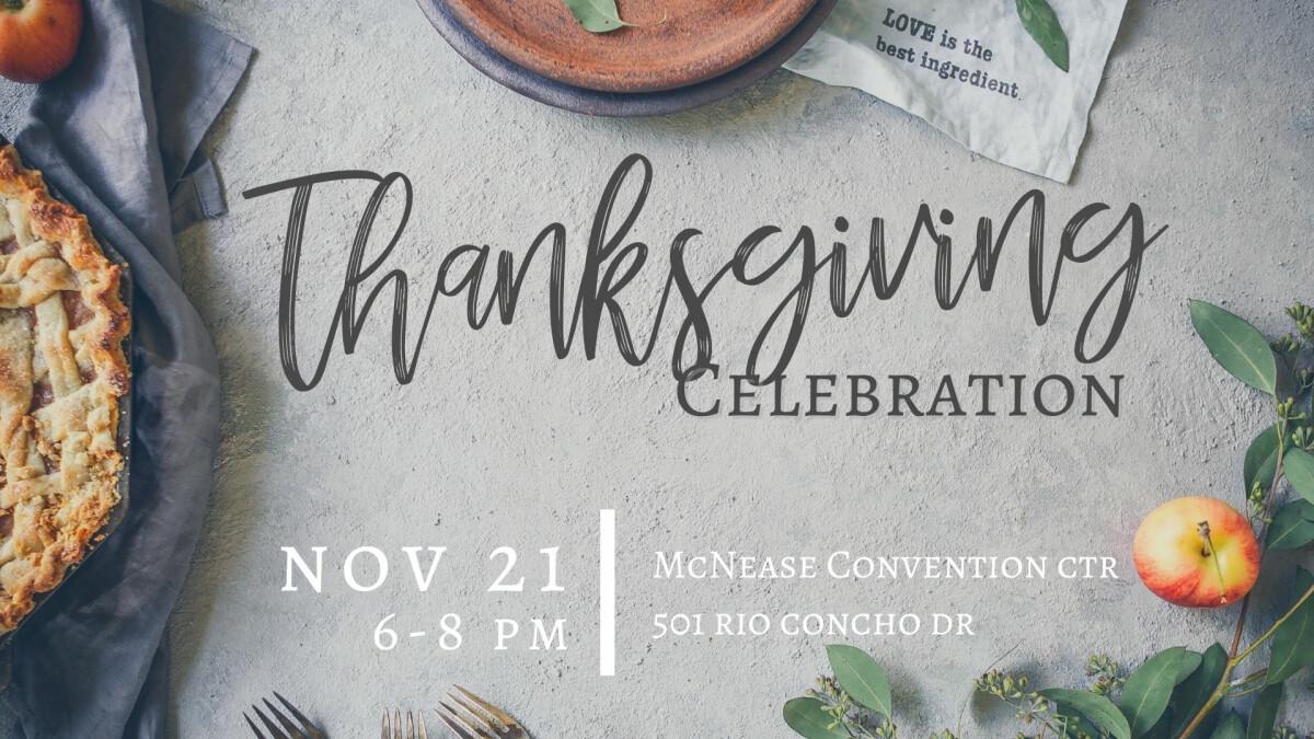 Churchwide Thanksgiving Celebration 2021