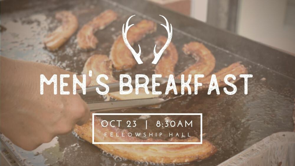 Men's Breakfast 10.23