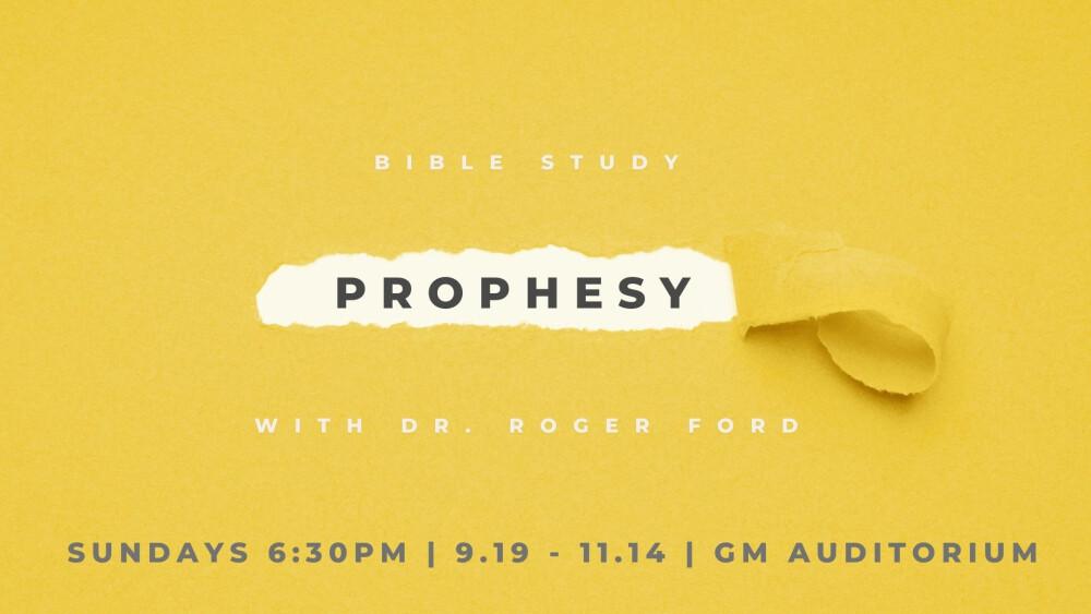 prophesy bible study
